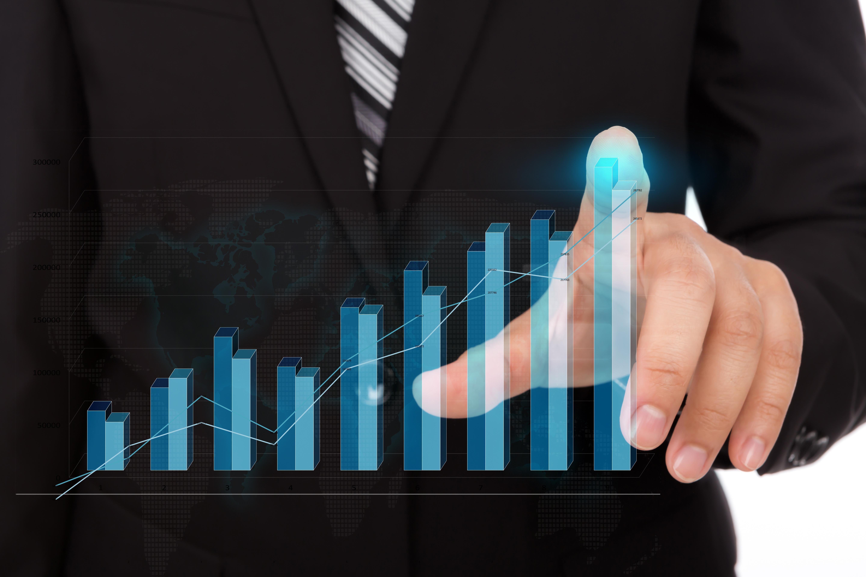 graf růstu prodeje